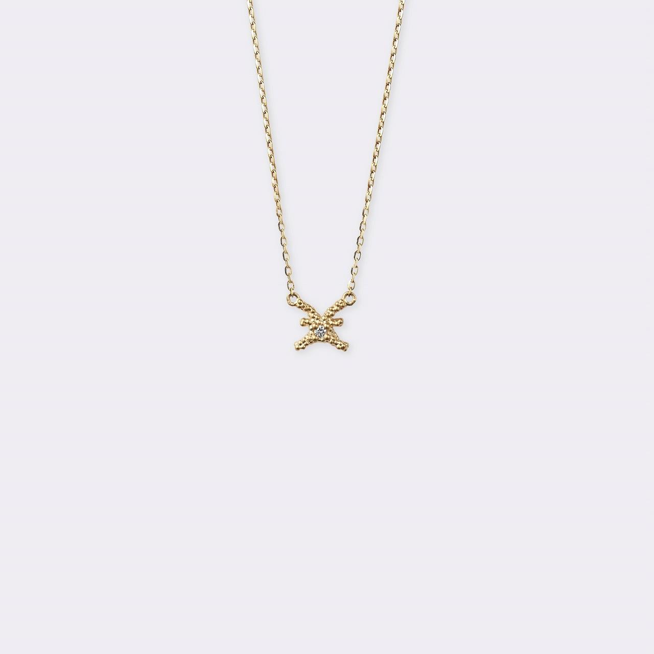 Horoscope Necklace 魚座 K18YG(ホロスコープネックレス うお座 K18イエローゴールド)