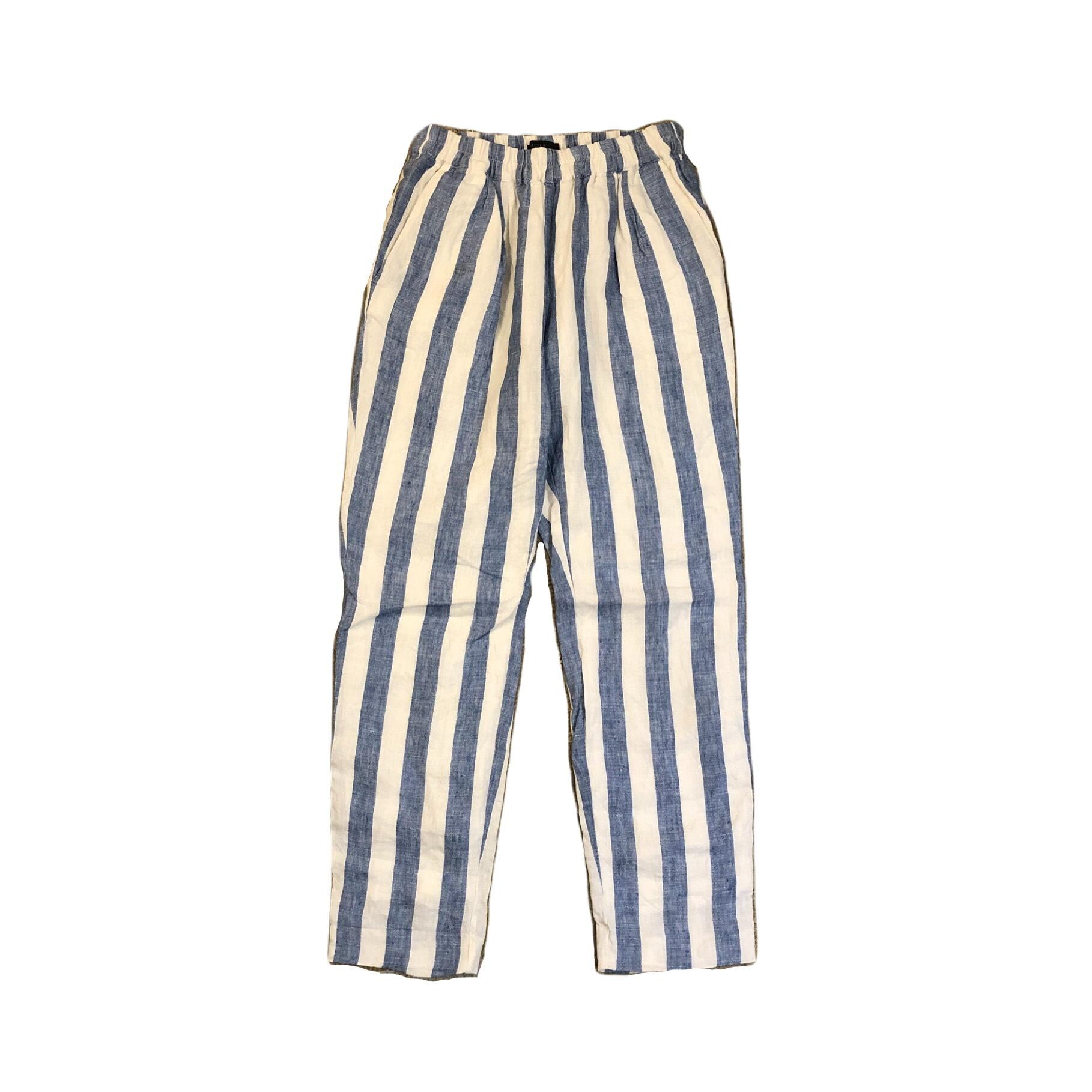 J.crew Stripe Easy Pants ¥6,300+tax