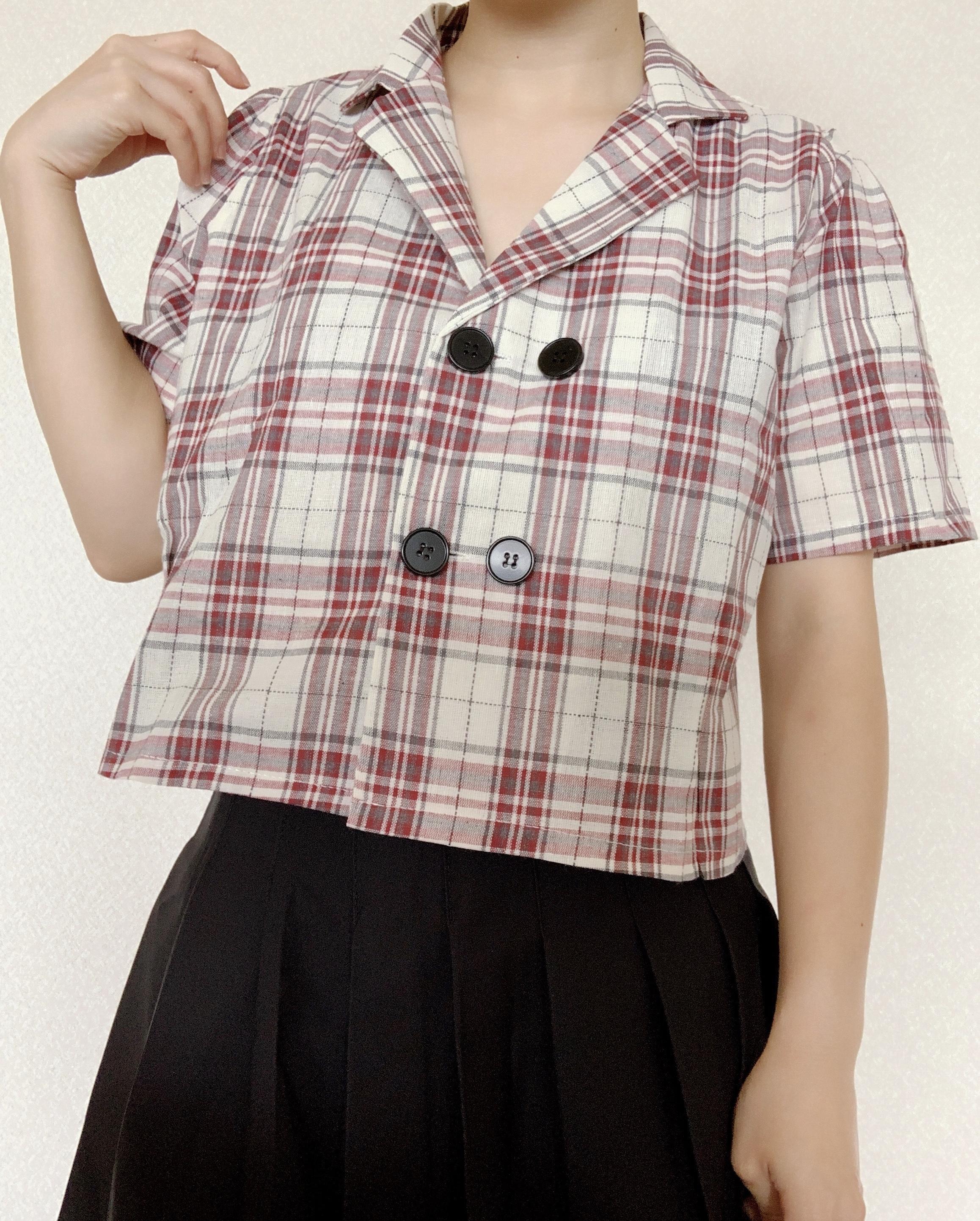 チェックマリンシャツ 【check marine shirt】