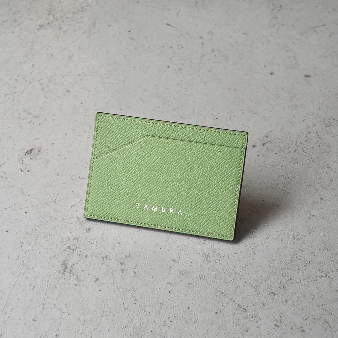 カードケース <Deneb> グリーンティー(ヴェールクリケット)