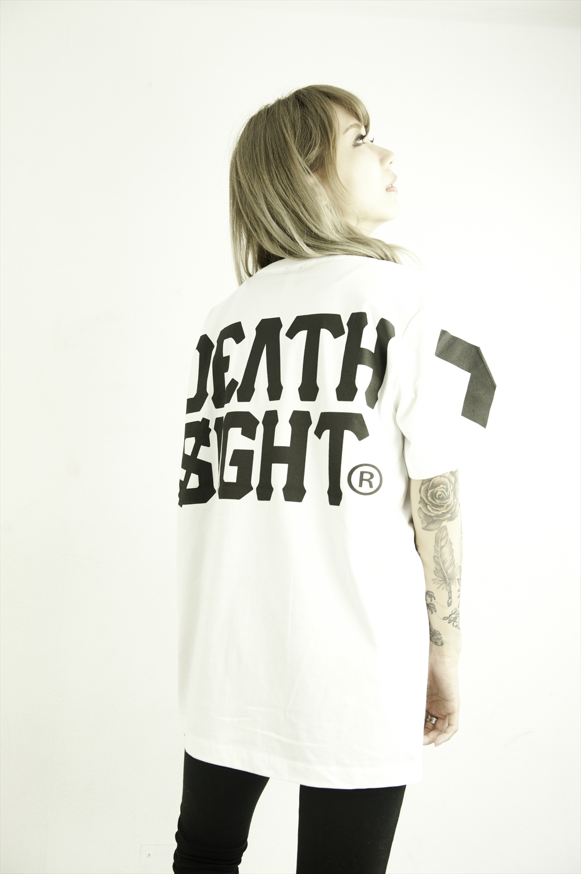 deathsight 17S TEES / WHITE - 画像4
