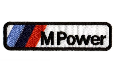 BMW M Power・ロゴ・ワッペン