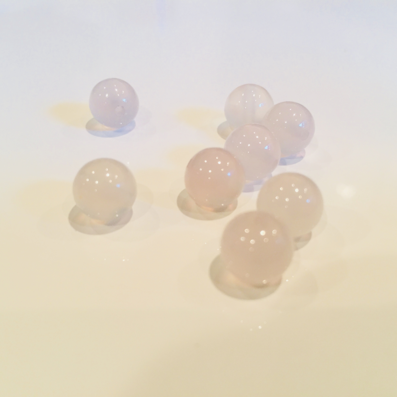 深い癒し|ホワイトカルセドニー 8mm玉