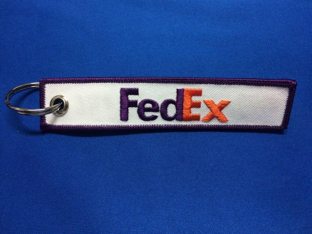 The World On Timeキーホルダー/Fedex