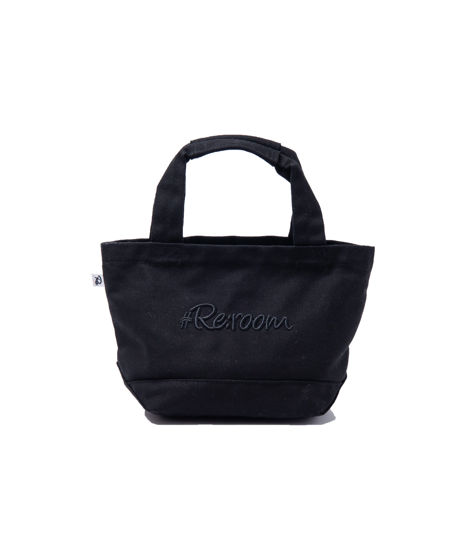 3D LOGO SMALL CANVAS TOTE BAG[REB018]