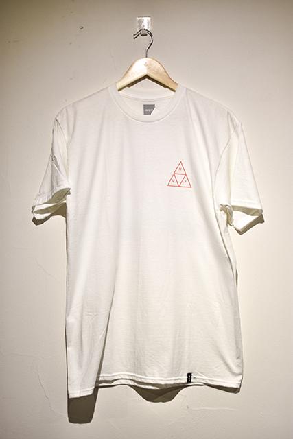 【HUF | ハフ】TRIPLE TRIANGLE TEE HUF / ハフ Tシャツ (White)