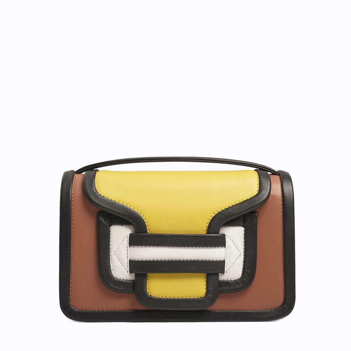 PIERRE HARDY ALPHA BAG MULTI YELLOW
