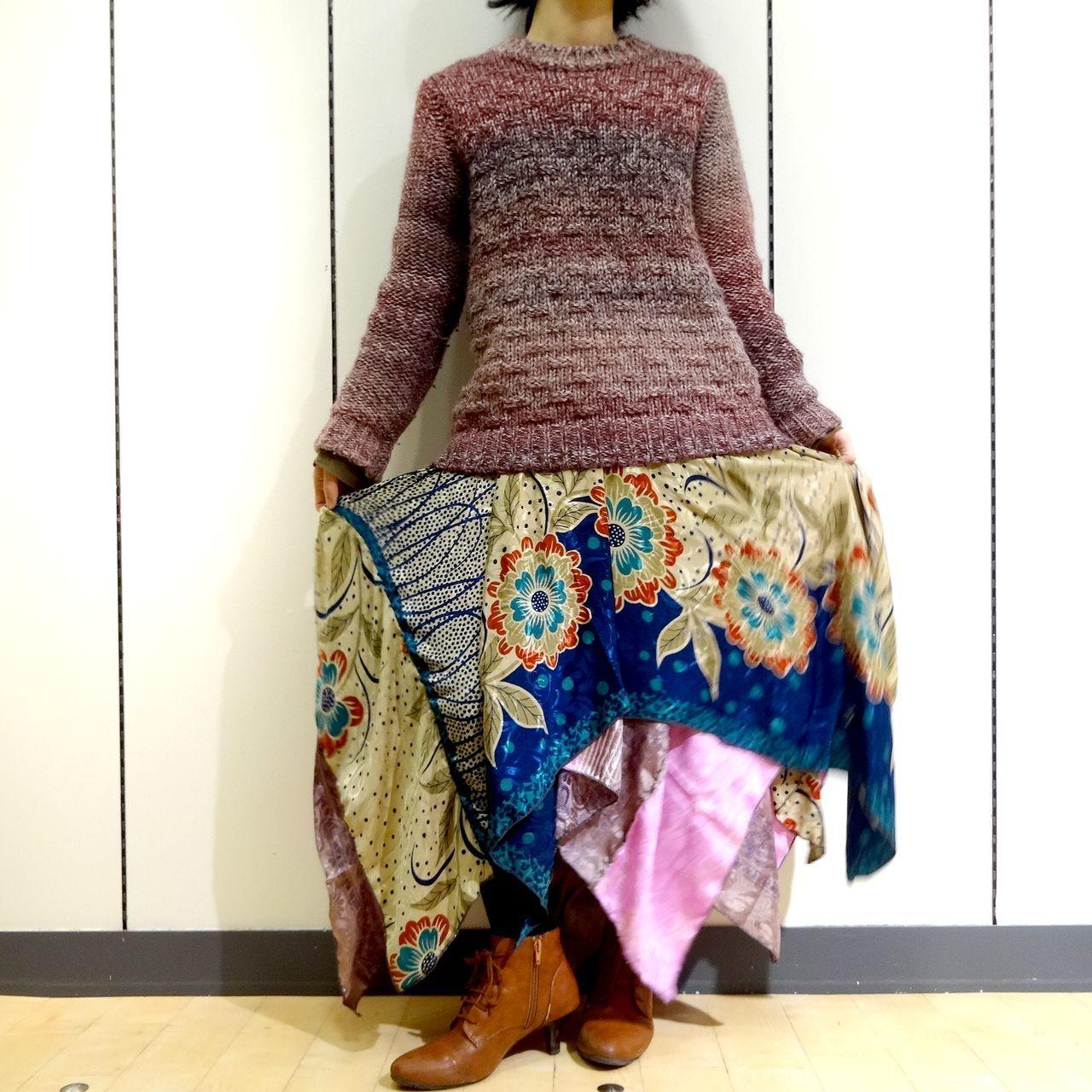 vdsz-008 ビンテージシルクサリーギザスカート「織姫恋歌(エレジー)」