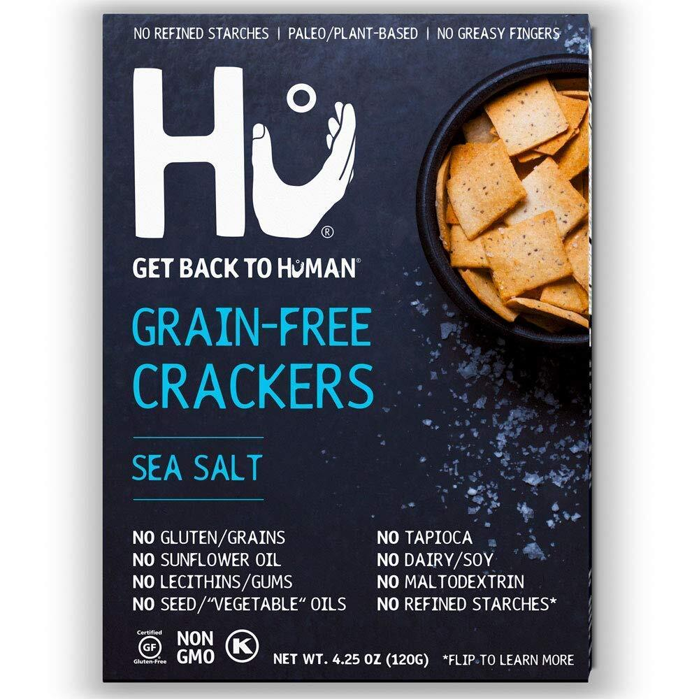 Hu パレオ ヴィーガンクラッカー Sea Salt 2箱セット
