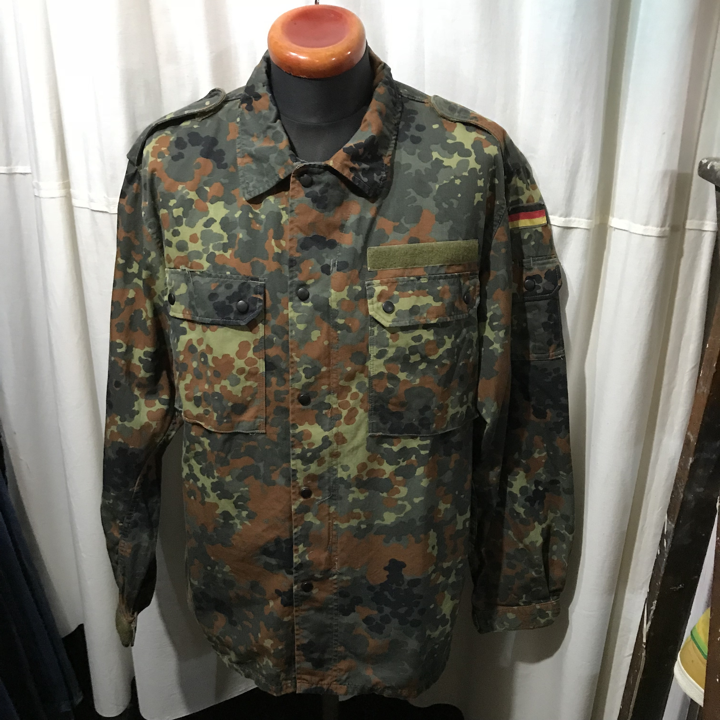 90's ドイツ軍 迷彩シャツ メンズXL