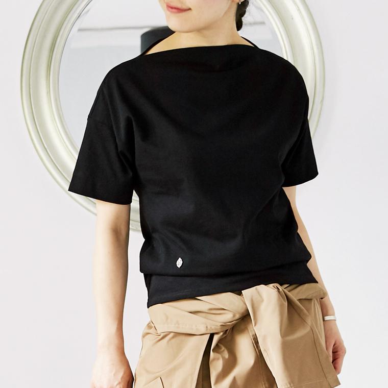 L'Ancre (アンカー)ドレスTシャツ 半袖