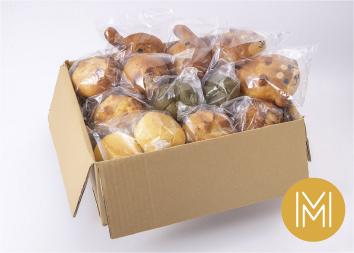 【大人気!動物パンも入った】まころパンおまかせボックスMサイズ