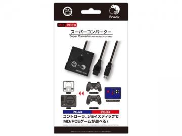 スーパーコンバーター  (MD/PCE用)   (PS4/PS3用コントローラ対応)  CC-MLSCV-BK  /  コロンバスサークル