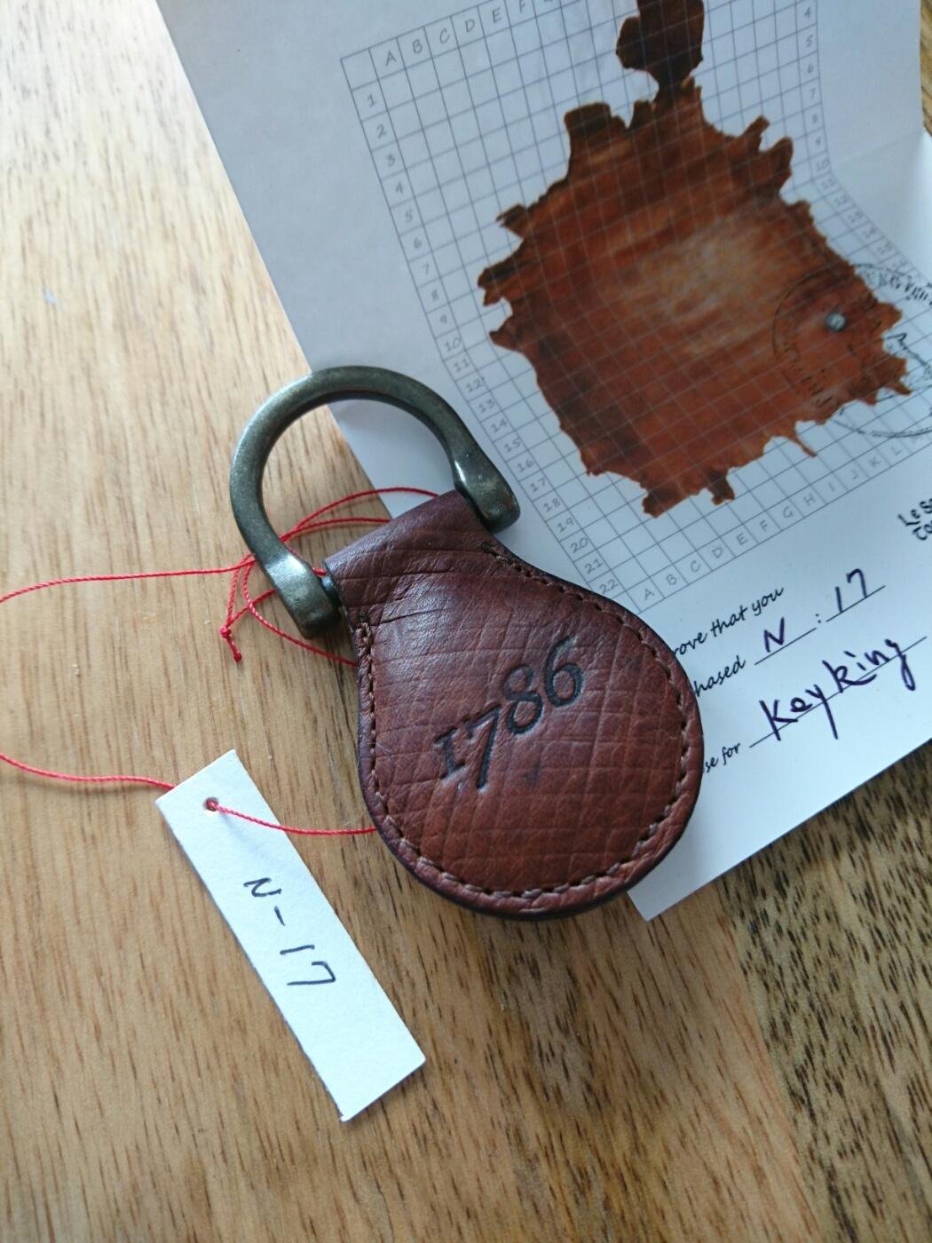1786 key Ring N-17