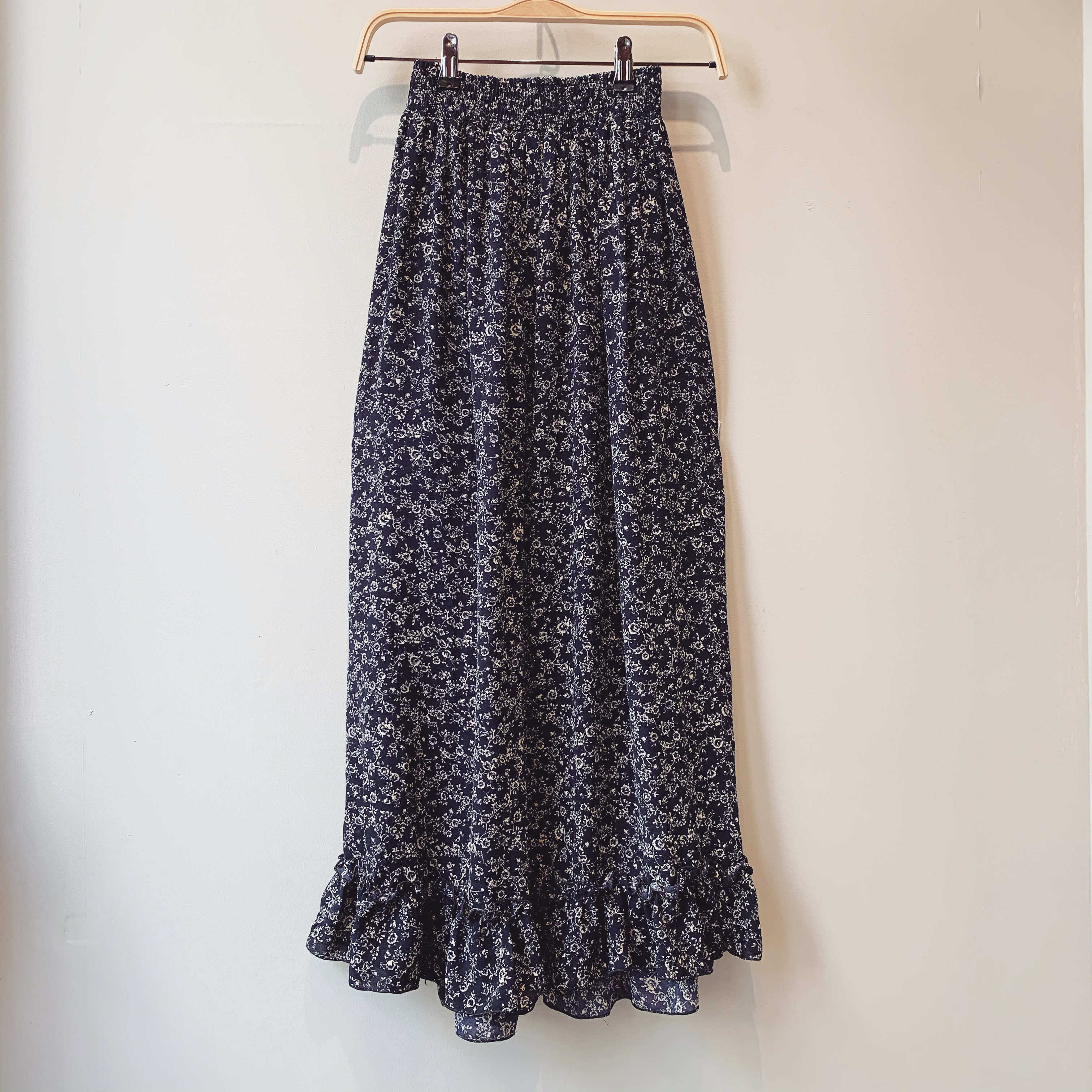 vintage mermaid design skirt