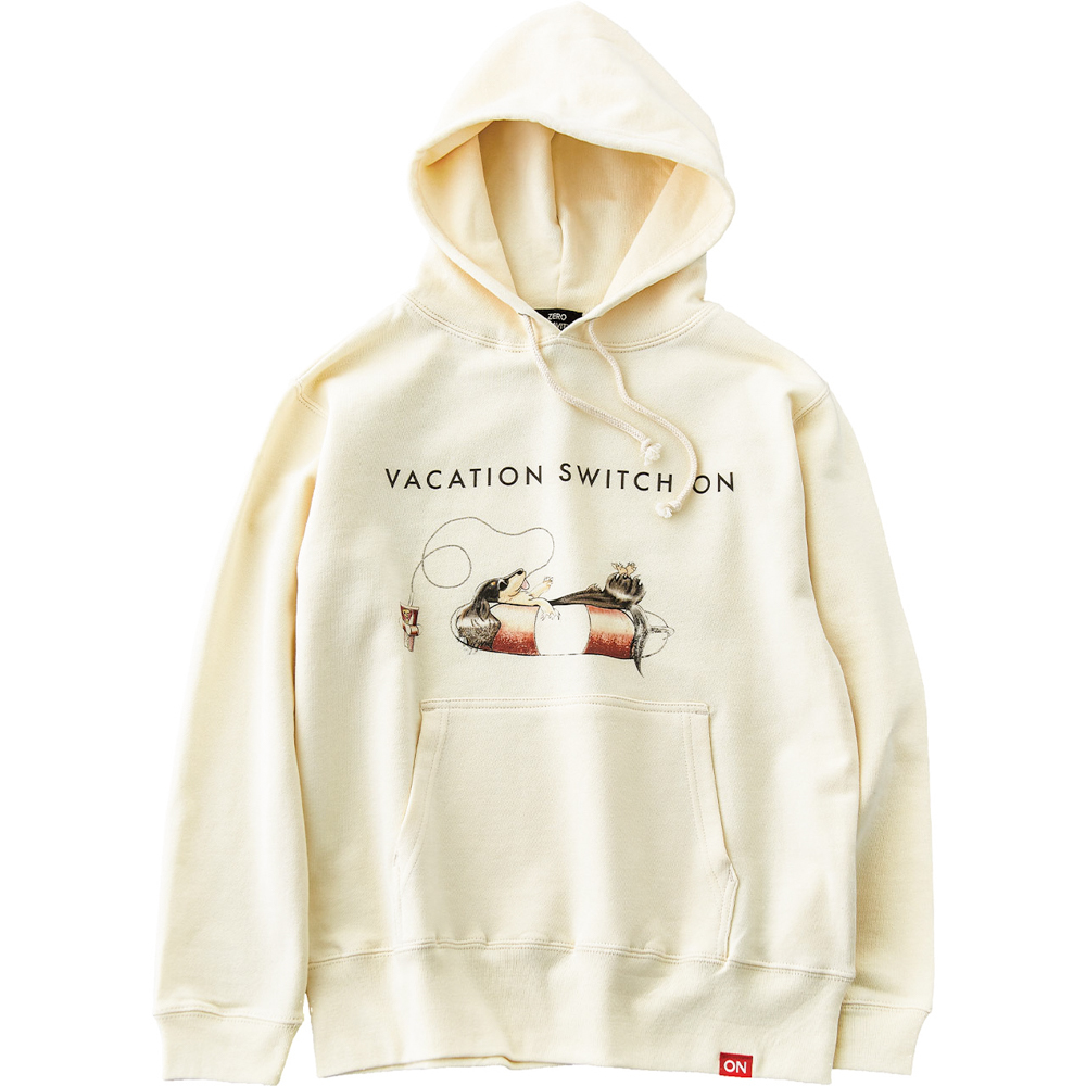 WAVE ON VACATION HOODIE [CREAM]