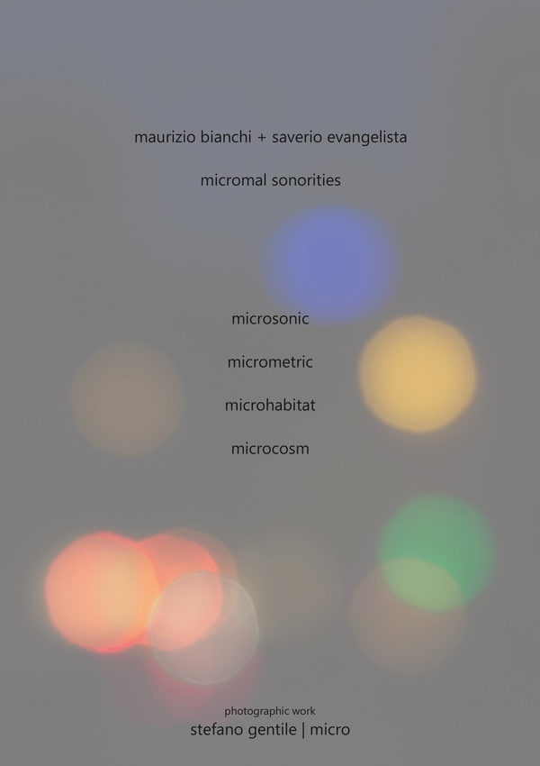Maurizio Bianchi + Saverio Evangelista - Micromal Sonorities  CD + A4 booklet - 画像1