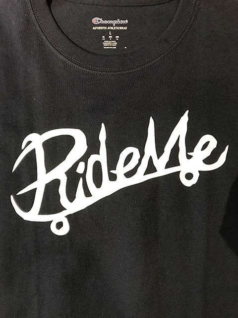 【RideMe | ライドミー】 Symbol Logo Champion TEE / 6.0oz NAVY