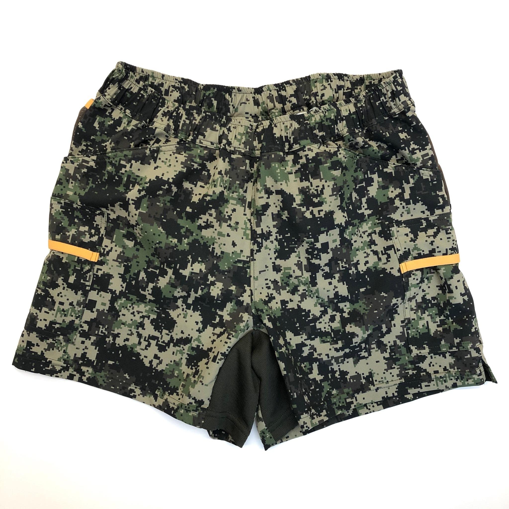 Mountain Martial Arts /MMA Women's 7pkt Shorts  《Digital Camo》