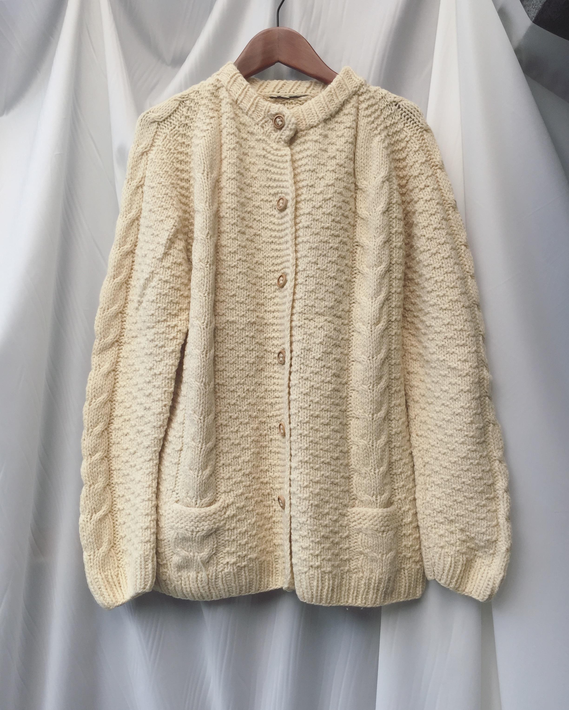 vintage knit outer