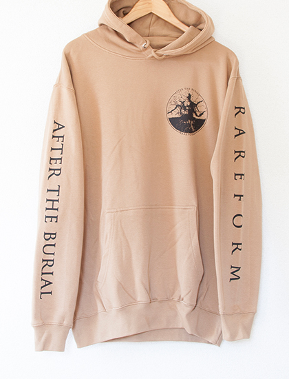 【AFTER THE BURIAL】Rareform Hoodie (Camel Tan)