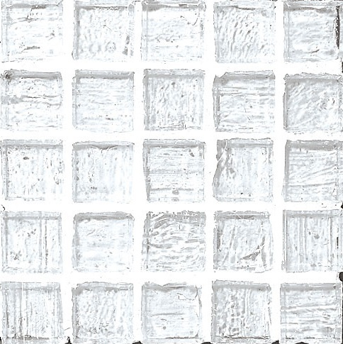 Staind Grass Mosaic 【Crystal/Natural】 ステンドグラスモザイク【クリスタル/ナチュラル】