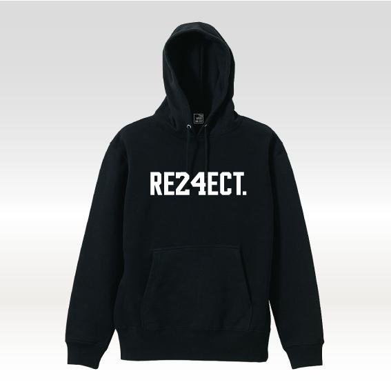 'RE24ECT' フーディー