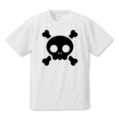 「キュートスカル」Tシャツ
