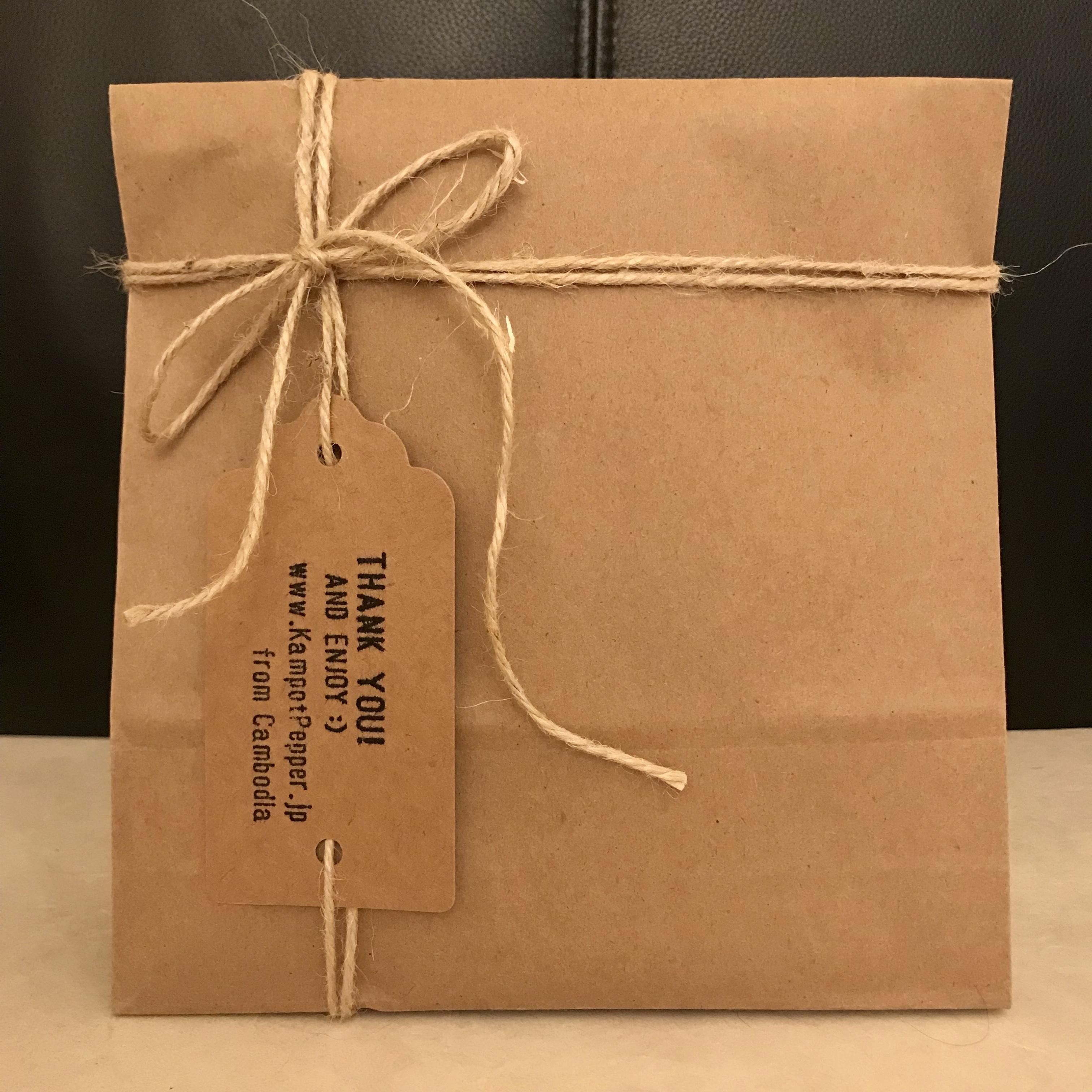 ギフトパッケージ(クラフト袋+紐)