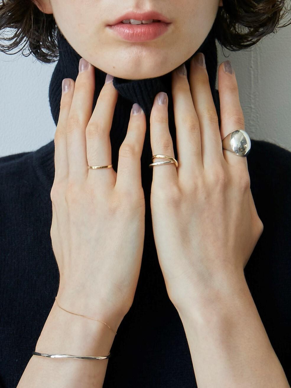 【受注生産】classic K18 ring (#11/13)