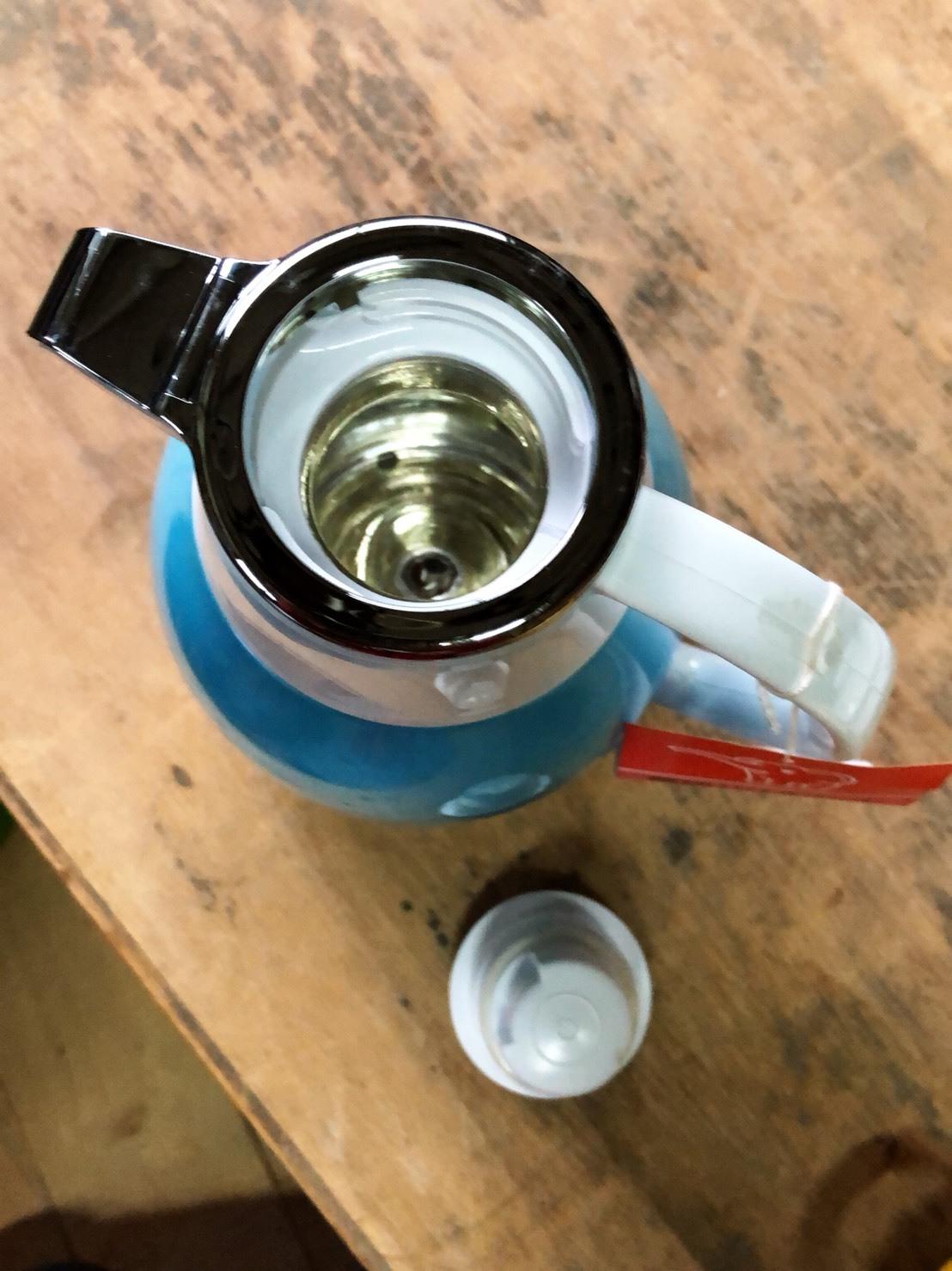 水色が可愛い 象印 魔法瓶ポット