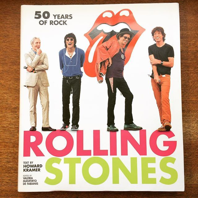 写真集「ROLLING STONES : 50 YEARS OF ROCK」 - 画像1