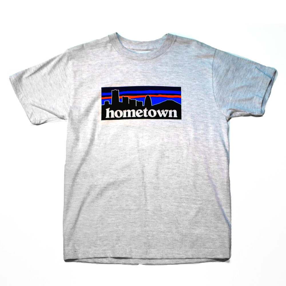 WILL HOME TOWN TEE ( ASH GREY )