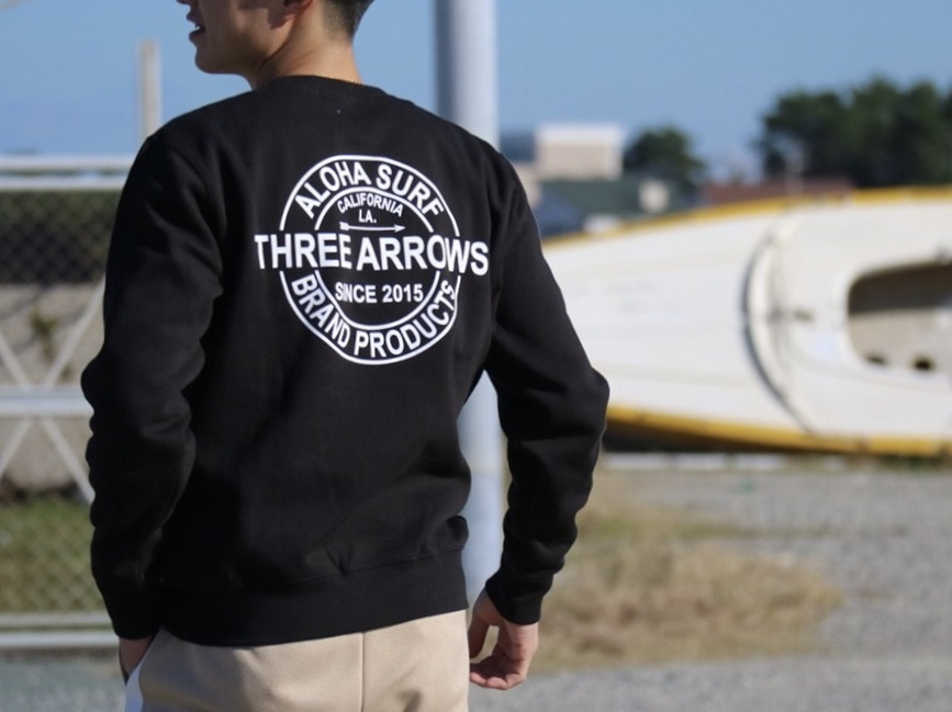 THREEARROWS BP スウェット (black)