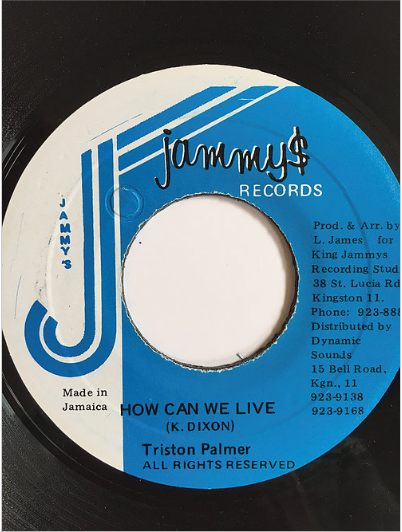 Triston Palmer(トリスタンパーマー) - How Can We Live【7inch】