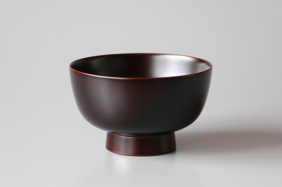 5寸そば碗 赤・黒