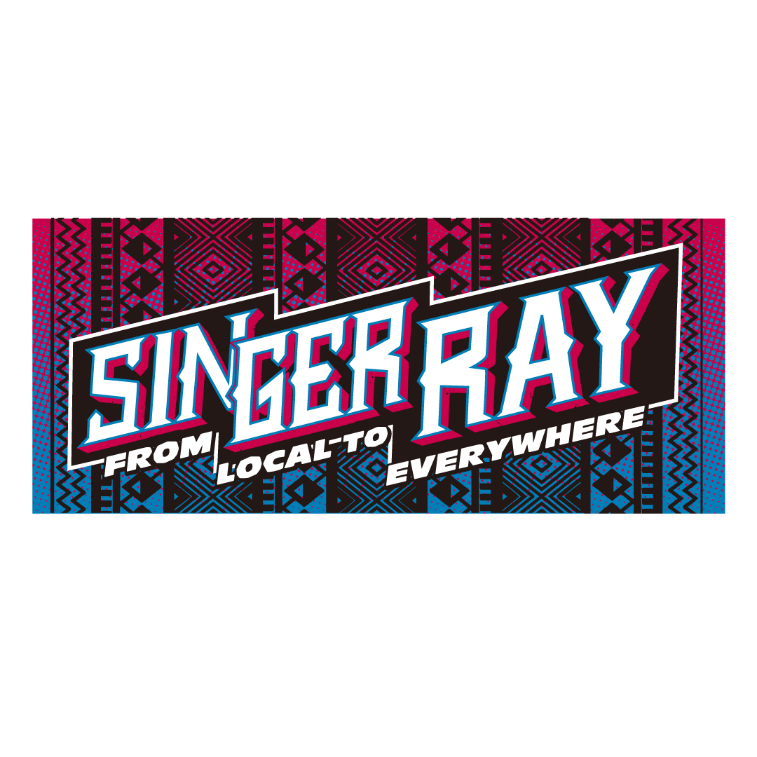 RAY OFFICIAL TOWEL 2017(BLUE&RED)