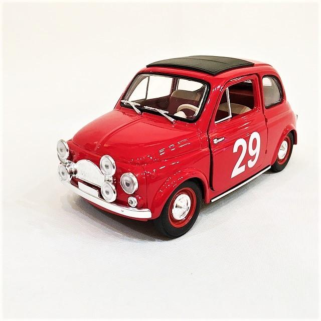 FIAT 500 RALLY MONTECARLO 1965 1/18【SOLIDO】【1セットのみ】【税込価格】