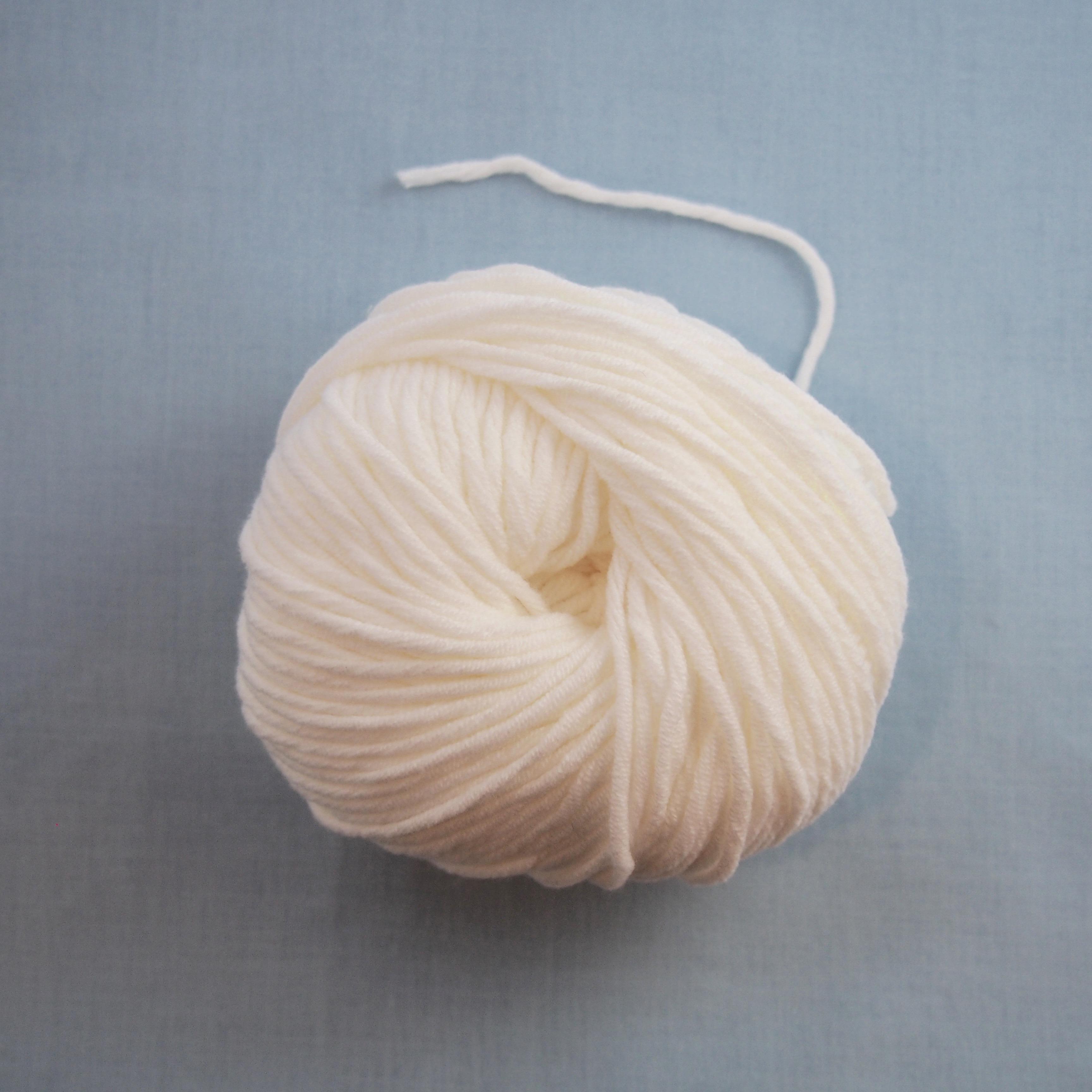ブティの詰め糸(綿60%ポリアミド40%)
