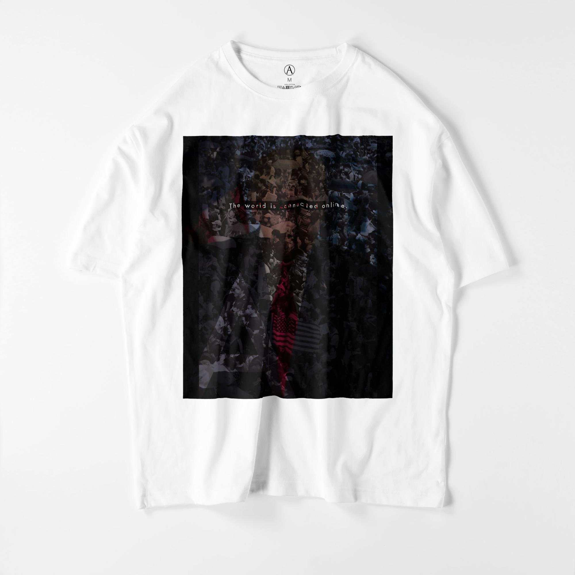TWICO ビッグシルエットTシャツ ホワイト / Mens