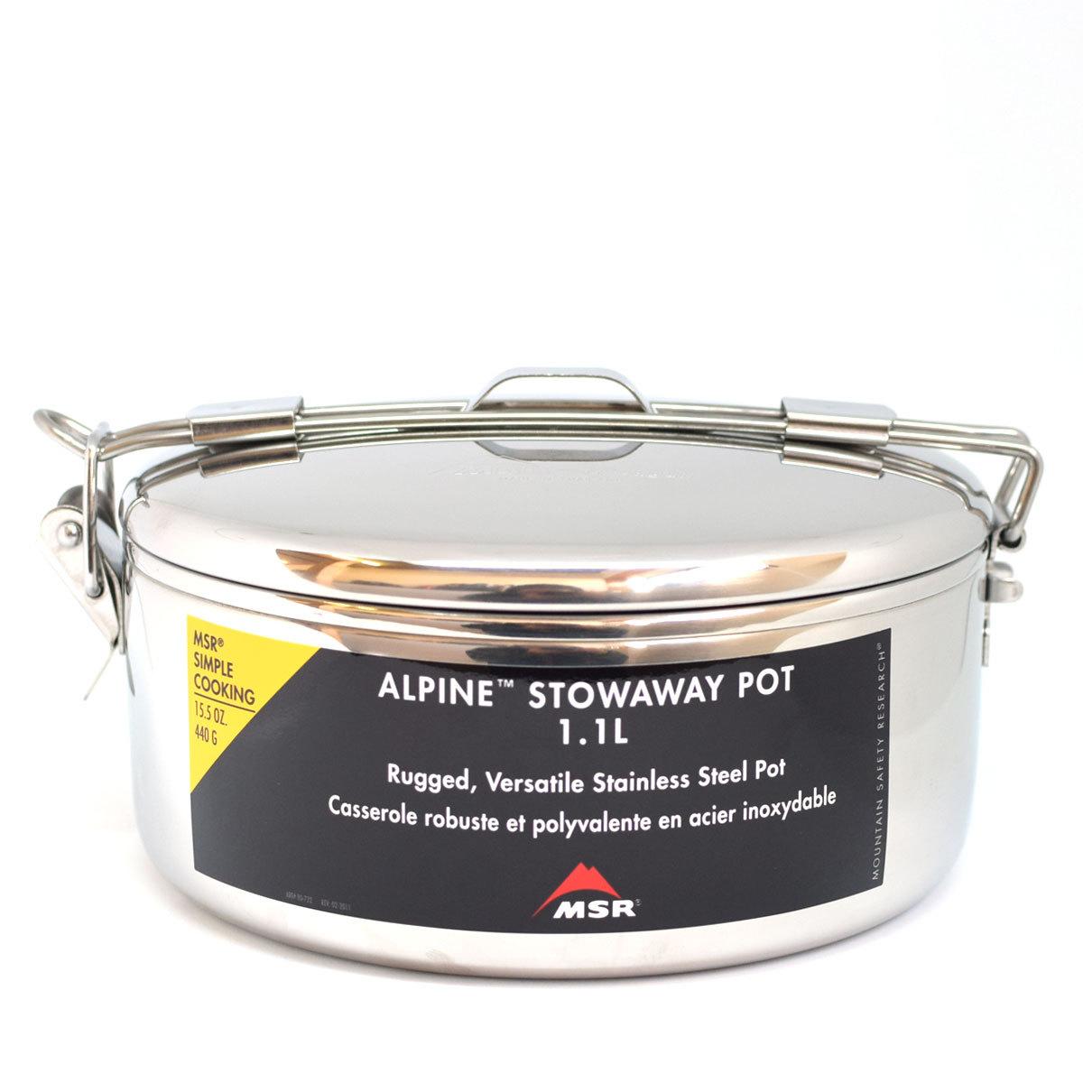 MSR ALPINE STOWAWAY POTS アルパインストアウェイポット 1.1L