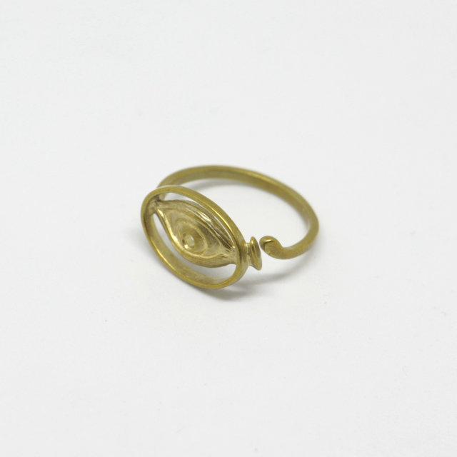 Glass Ring | 眼鏡 メガネ グラス リング (Aquvii アクビ)