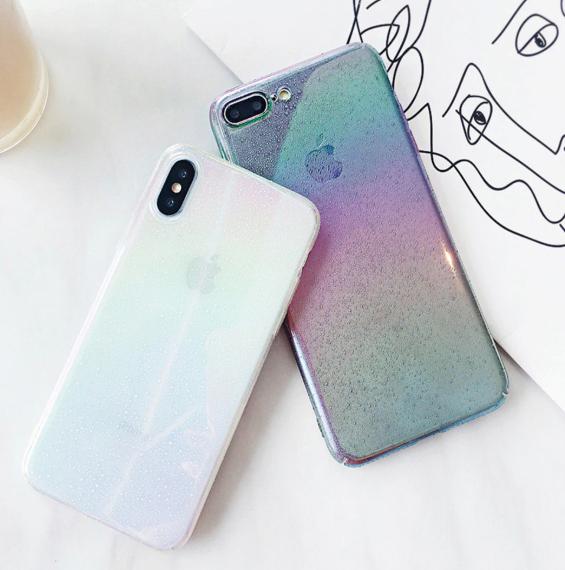 【お取り寄せ商品、送料無料】2カラー おしゃれなハードケース iPhoneケース