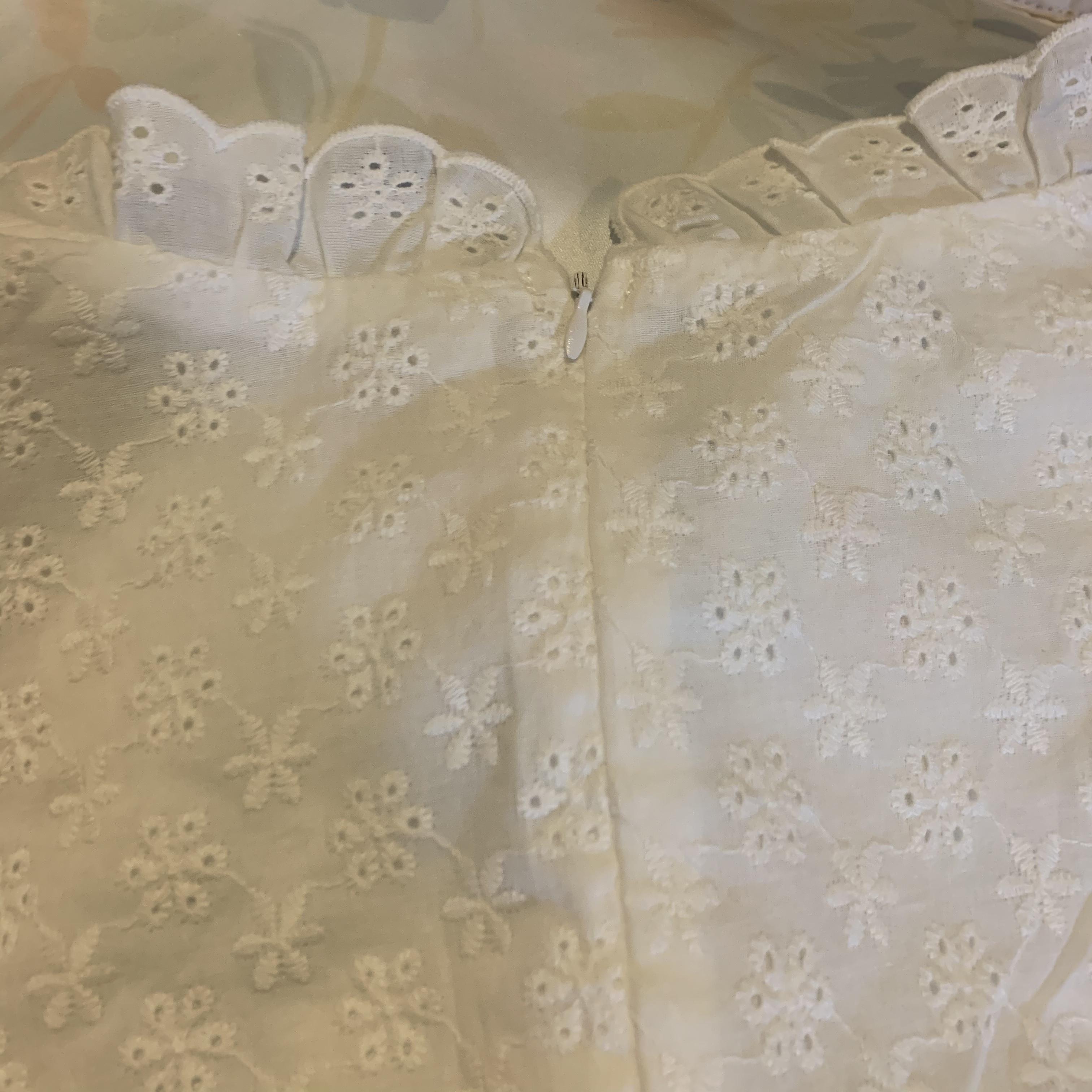 cotton lace one-piece