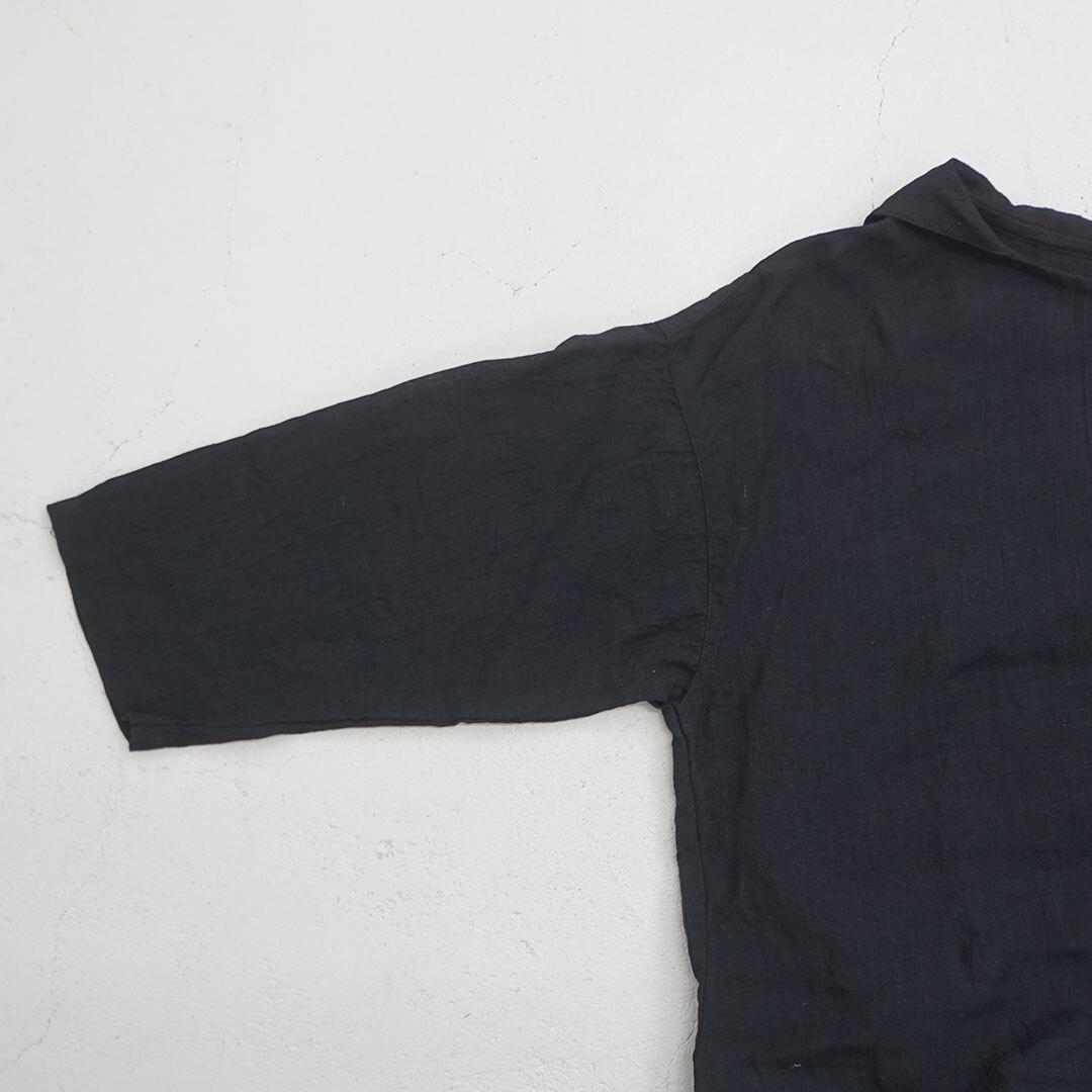 prit プリット リネン7分袖セーラーカラーチュニック (品番p81035)