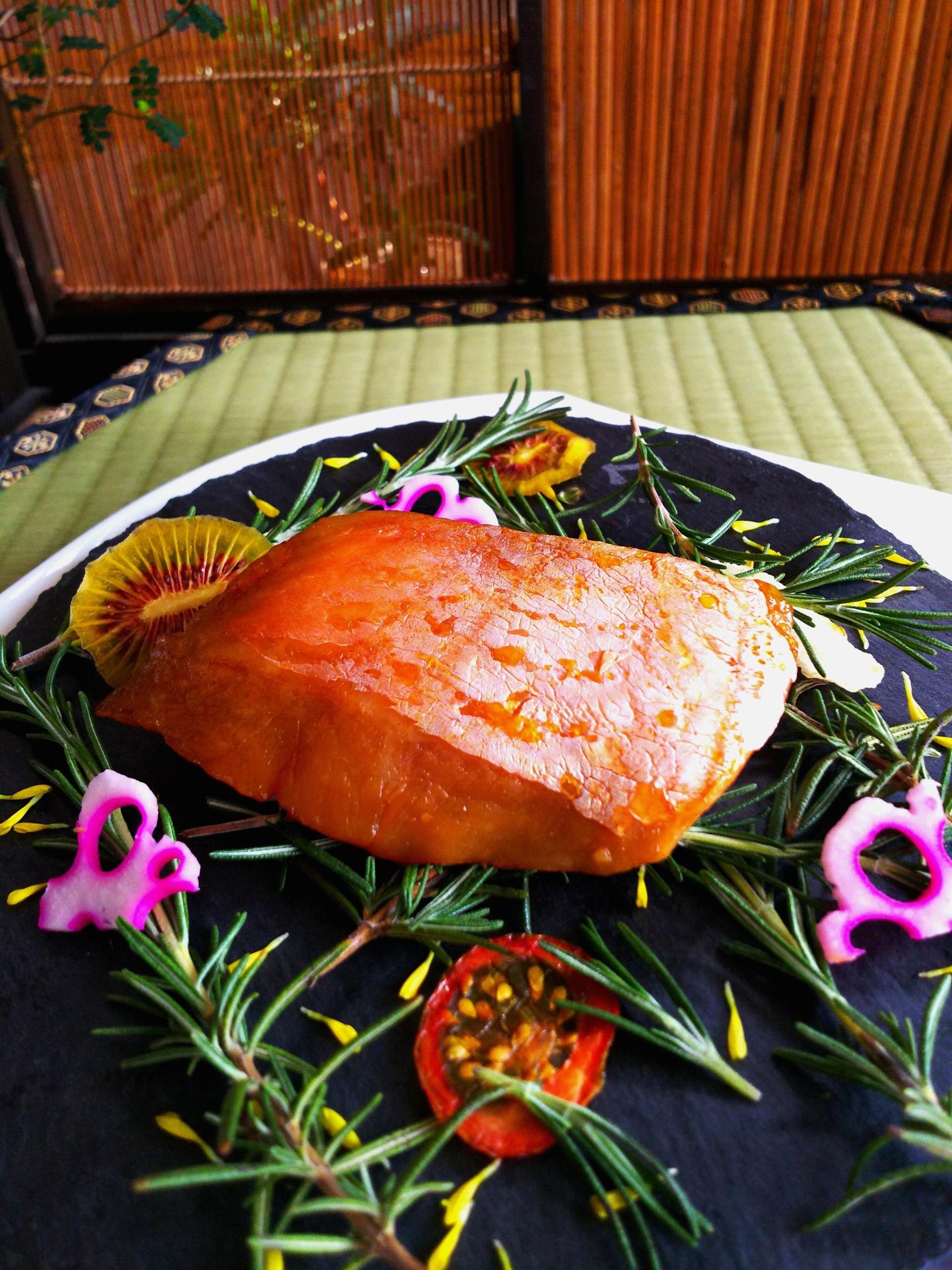 金目鯛 西京焼き燻製