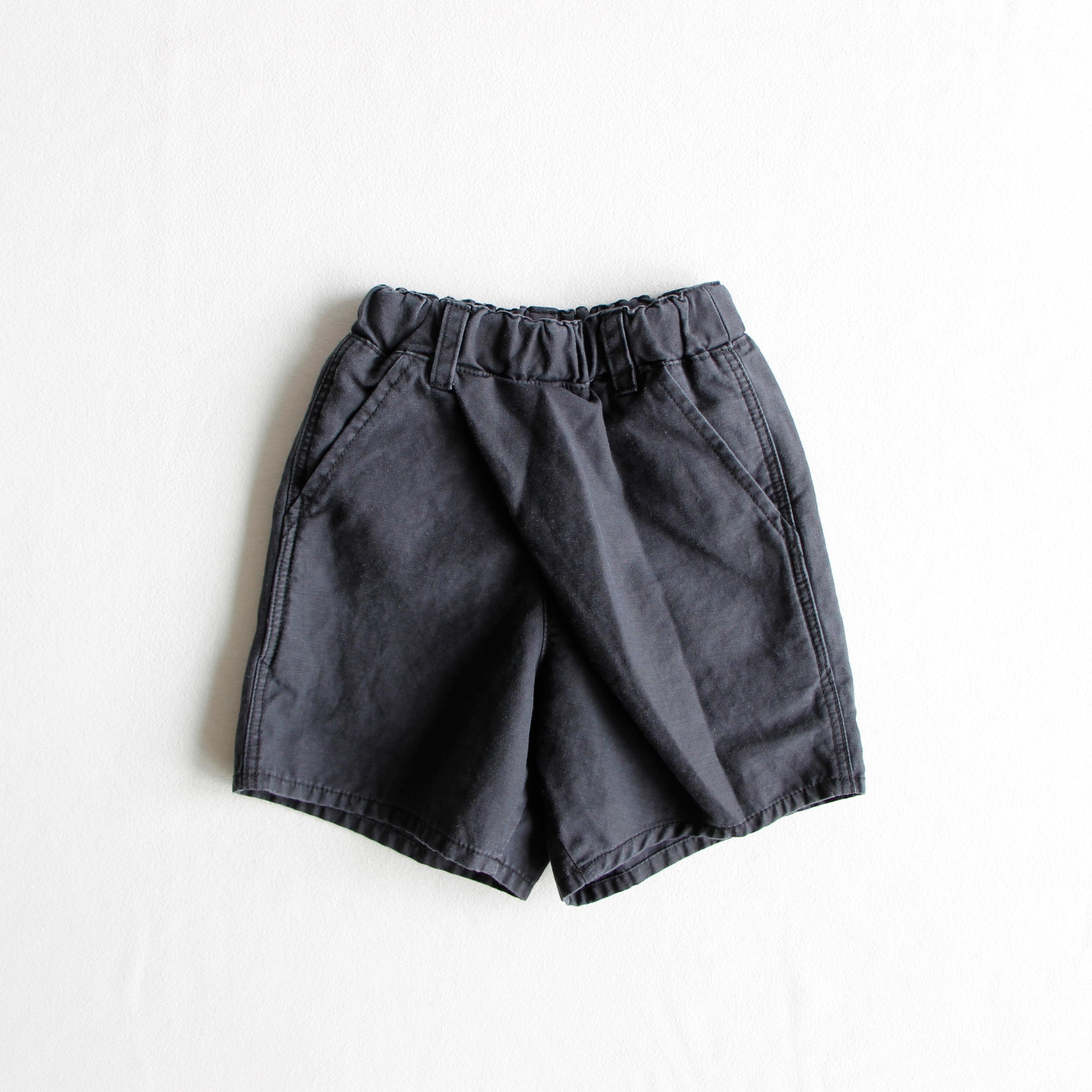 《mimi poupons 2019SS》ショートタイパンツ / black / 2・4・6Y