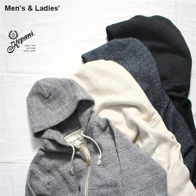 Kepani スウェットZIPパーカ Manhattan-Ⅱ TS8101MS (CARBON BLACK) 【Men's / Ladies'】