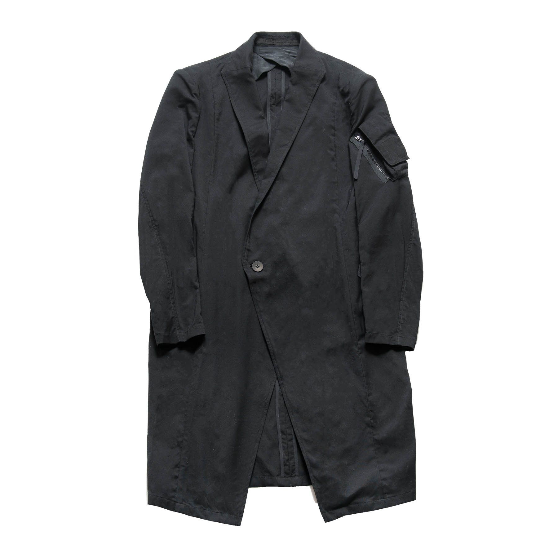 617JAM3-BLACK / トレンチテーラードジャケット