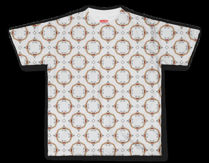 Tシャツ|ボッチャ!テキスタイル1